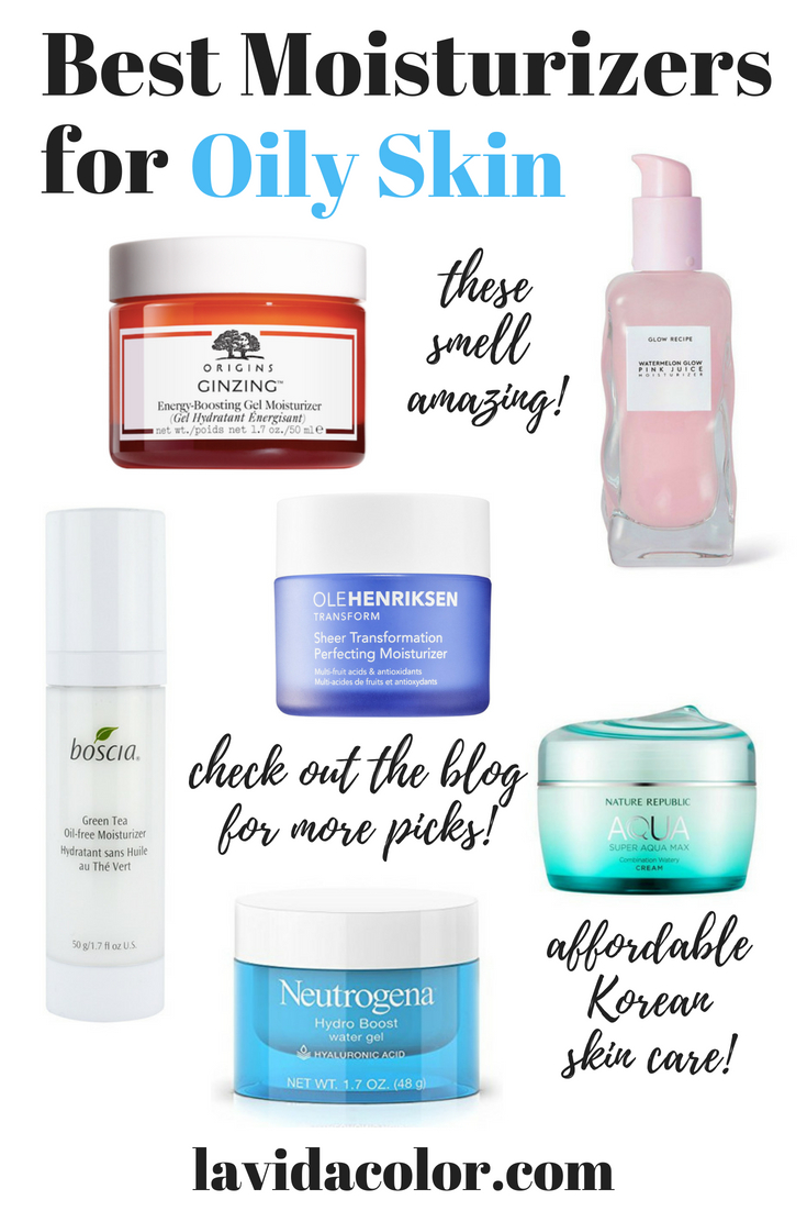 10 Best Moisturizers for Oily Skin in the Summertime  L.A. Vida Color